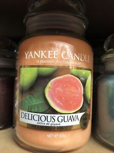Yankee Candle Large Jar Delicious Guava Retired Scent