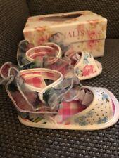 Monnalisa Baby Schuhe Sandalen Glitter 20 w. Neu Traum