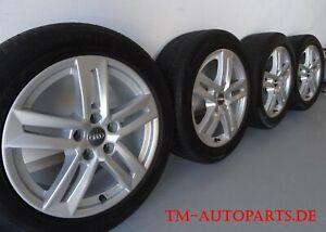 Orig. Audi A4 B9 Alu 8W0601025P 7x17 + 225 50 R17 Conti Winter -2