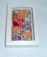 Icing Flowers & Gemstones Embellished iPhone 5 Hard Case Cover NEW