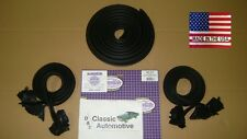 Weatherstrip Kit 3pc Door Trunk 73-77 MADE in USA Chevelle Malibu Cutlass LeMans