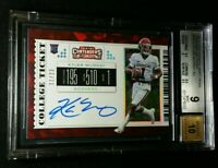 BGS 9/10 POP 2 KYLER MURRAY RC AUTO CRACKED ICE /23 2019 Panini Contenders #101A