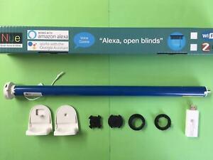 Smart WiFi Blinds Motor -Battery Run DIY Roller Blind  25 / 28mm Tubular Motor