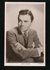 Film Theatre JAMES MASON c1920/30s? Plain back photo card Picturegoer #W151
