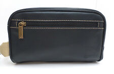 KENNETH COLE REACTION Men's *Black Toiletry Case *Shaving Kit *Travel/Dopp Bag