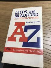 Old Leeds to Bradford Street Atlas and Index.