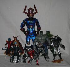 marvel legends series 9 2005 BAF Galactus complete set regular and variants