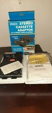 New Vintage 1986 Kraco #Kca-7A Stereo Cassette Adapter For 8 Track Tape Players