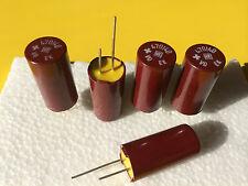 4x NOS ROE EK 470uF/40V ROEDERSTEIN bakelite capacitors