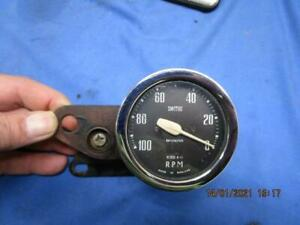 All Original Triumph Tiger Cub Tachometer / Mounting Bracket RM1102/00   B1519