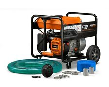 """Generac 6822 - 2"""" Semi-Trash Water Pump with Hose and Strainer Kit - 49 ST/CSA"""
