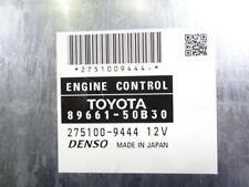Jdm 2007 Lexus LS600h 2UR-FSE Engine Computer Control Module ECU 89661-50B30 30
