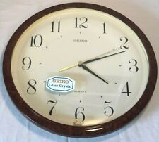 SEIKO Quartz WALL CLOCK Classroom/Office/Home Decor Vintage Brand New