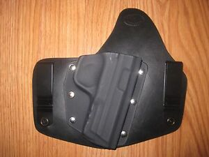 IWB Kydex/Leather Hybrid Holster for Smith and Wesson
