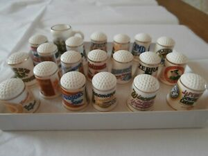 Vintage collection of Trade named Thimbles