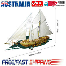 DIY Ship Assembly Model Kits Wooden Sailing Boat Scale Model Decoration for Kid