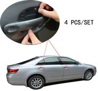 4pc Invisible Clear Adhesive Car Door Handle Paint Scratch Protection Film Sheet