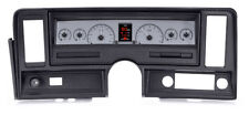 1969-76 Chevrolet Nova Silver Alloy Dakota Digital HDX Custom Analog Gauge Kit