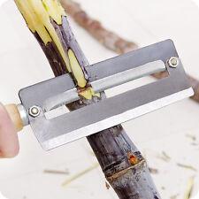 Sugarcane Peeler knife, Double Function, handheld, easy and portable ! Peel Pro