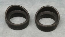 PAIR OF TELESCOPE EYEPIECE RUBBER EYE CUPS