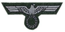 Wehrmacht Brustadler Heer M43 feldgrau grau maschinengestickt Reenactment
