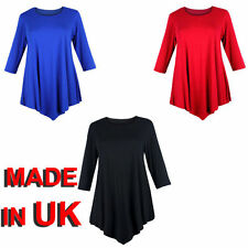 Viscose V Neck Plus Size Tops & Shirts for Women