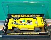 1977 Scalextric 1:32 C134 Renault Elf RS01 Gordini Turbo F1 Formula 1  RESTORED