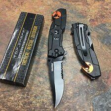 Tac Force Spring Open EMT Emergency EMS Rescue Outdoor Tactical Pocket Knife