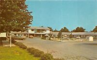 Martinsburg West Virginia 1960s Postcard Wheatland Motel