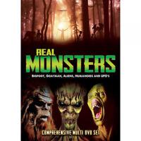 Real Monsters - Bigfoot, Goatman, Aliens, Humanoids and UFOs DVD (2016) cert E