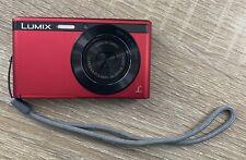 Panasonic Lumix DMC-XS1 Digital Camera Red
