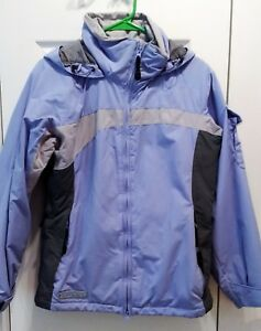 Columbia Convert Board Jacket - Women's S - Lilac & Gray - Pristine Condition