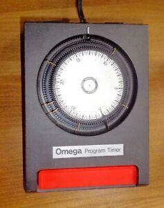Omega Programable Timer Photo Vintage Darkroom Enlarger Photography