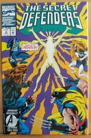 The SECRET DEFENDERS #2 (1993 MARVEL Comics) VF/NM