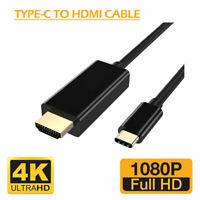 USB 3.1 TIPO C USB-C a 4K HDMI Cavo Adattatore HDTV per Samsung Galaxy  MacBook