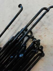 Sapim E-Strong ebike Spokes BLACK Butted 12g /13g Custom lengths inc nipples