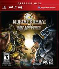 Mortal Kombat vs. DC Universe PS3 New Playstation 3