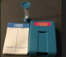 Taboo Game Replacement Card Holder * Sand Timer * Score Sheets * Parts & Pieces