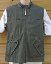 Timberland Heavy Cotton Waistcoat Gilet Vest - Hunting Shooting - S - c2007