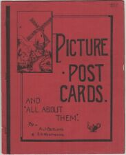 More details for picture post cards rare printed booklet by a j butland & e a westwood 1959