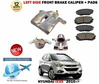 FOR HYUNDAI IX35 1.6 1.7 2.0 CRDI 2.4 2010-> NEW FRONT LEFT BRAKE CALIPER + PADS