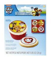Wilton Paw Patrol Sugar Sheets Edible Cupcakes  or Cake Decorations