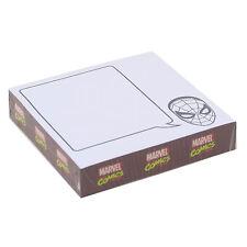 Marvel logo STICKY NOTES MEMO BLOC PAPIER Pad Téléphone Bureau Cadeau Spiderman Thor