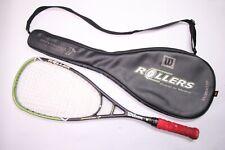 Wilson Squash Racquet HyperHammer Roller Hyper Carbon Overdrive w/ Carry Bag