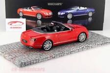 1/18 scale Model Minichamps 2013 Bentley Continental GT Speed Convertible 1/999