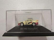 Herpa Private Collection (Germany) White Porsche 911 RS Clubsport (MHS) 1:87