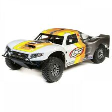 1/5 5ive-T 2.0 4WD Short Course Truck Gas BND: GRY/ORG LOSD17**