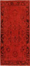 Handmade Red Persian Gabbeh High Quality Runner 5'.6''x2'.6''foot