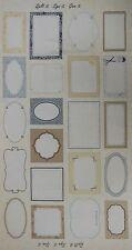 15,64€/m² => 60cmx110cm: Panel 21 Labels - Quilt it. Sign it. Give it. Patchwork