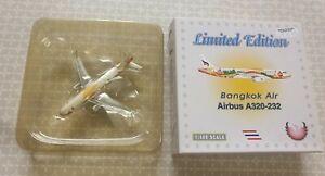 BANGKOK AIR AIRBUS A320 - 232 LIMITED EDITION  1 : 400 SCALE NEW REG NO HS PGU
